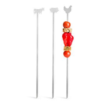 Sagaform - BBQ - 3 szpikulce do szaszłyków - długość: 34 cm