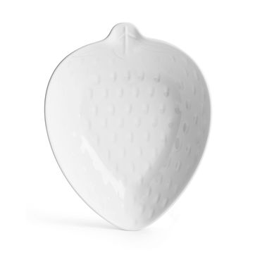 Sagaform - Kitchen - miska-truskawka - wymiary: 25 x 20 x 5,5 cm