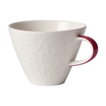 Villeroy & Boch - Caffé Club Floral Touch of Rose - filiżanka do białej kawy - pojemność: 0,39 l