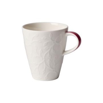Villeroy & Boch - Caffé Club Floral Touch of Rose - mały kubek - pojemność: 0,2 l