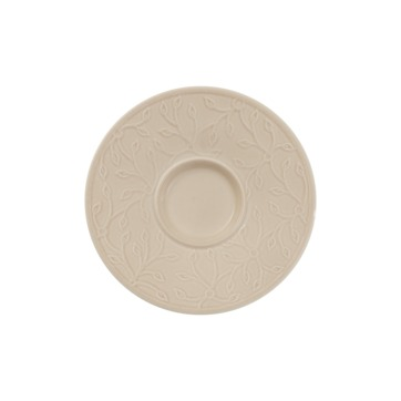 Villeroy & Boch - Caffé Club Floral Touch of Hazel - spodek pod filiżankę do espresso - średnica: 12 cm