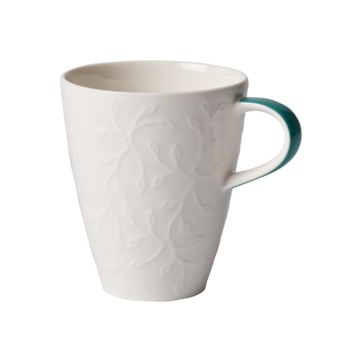 Villeroy & Boch - Caffé Club Floral Touch of Ivy - kubek - pojemność: 0,35 l