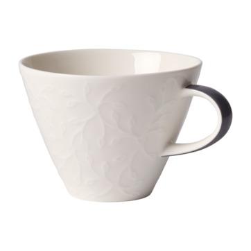 Villeroy & Boch - Caffé Club Floral Touch of Smoke - filiżanka do białej kawy - pojemność: 0,39 l