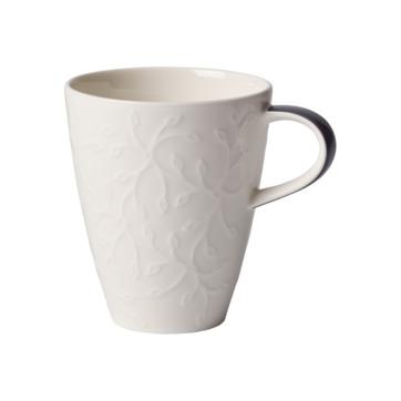 Villeroy & Boch - Caffé Club Floral Touch of Smoke - kubek - pojemność: 0,35 l