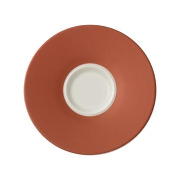 Villeroy & Boch - Caffé Club Uni Oak - spodek pod filiżankę do białej kawy - średnica: 17 cm