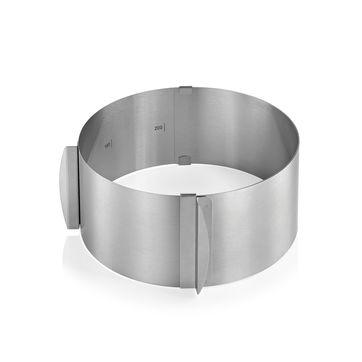 Küchenprofi - Pâtissier - okrągła ramka do pieczenia - regulowana średnica
