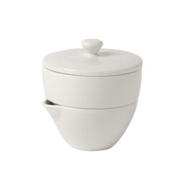 Villeroy & Boch - Tea Passion - cukiernica i mlecznik - pojemność: 0,13 l + 0,11 l