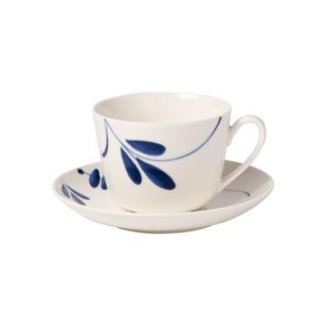 Villeroy & Boch - Old Luxembourg Brindille - filiżanka do kawy lub herbaty ze spodkiem - pojemność: 0,2 l