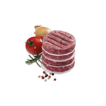 Kela - Buffalo - papier do przekładania mini-hamburgerów - 50 sztuk; średnica: 7 cm