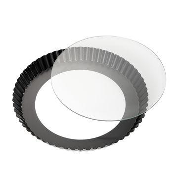 Küchenprofi - forma na tartę ze szklanym dnem - średnica: 28 cm