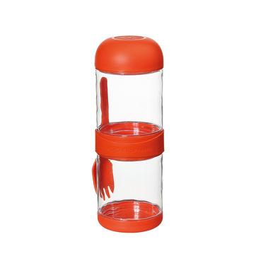 Cilio - To Go - pojemnik na przekąski - pojemność: 2x 0,33 l