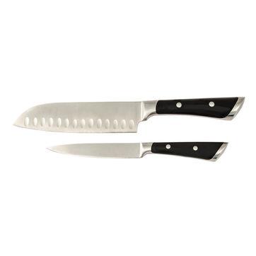 Fissler - Milano - zestaw 2 noży - nóż Santoku + uniwersalny