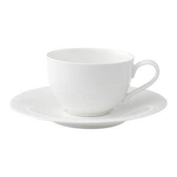 Villeroy & Boch - New Cottage Basic - filiżanka do kawy ze spodkiem - pojemność: 0,25 l