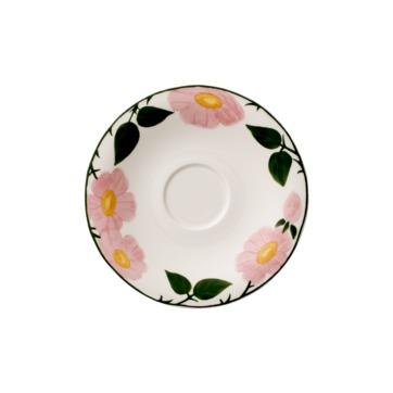 Villeroy & Boch - Rose Sauvage - spodek do filiżanki śniadaniowej - średnica: 16 cm