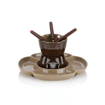 Kela - Fiore - zestaw do fondue czekoladowego - 7 elementów