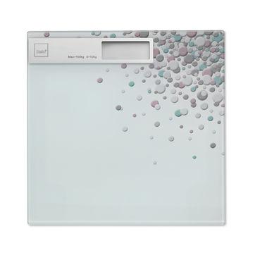Kela - Bubbles - waga łazienkowa - wymiary: 30 x 30 cm