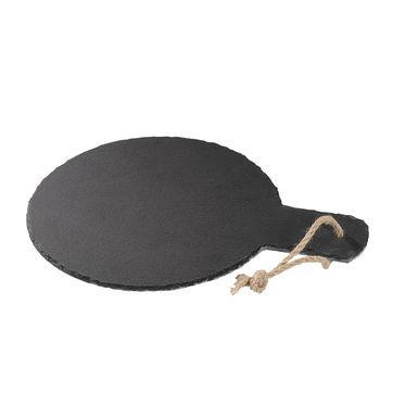 Cilio - Formaggio - deska do sera z łupka - średnica: 22 cm
