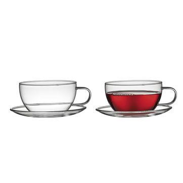 Küchenprofi - Assam - 2 szklanki ze spodkami - pojemność: 0,25 l