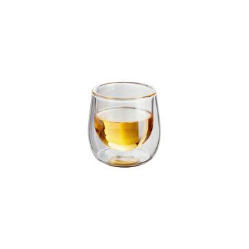 Judge - 2 kieliszki do wódki o podwójnych ściankach - pojemność: 75 ml