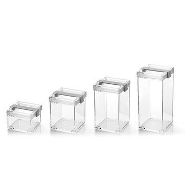 Guzzini - CLICK & FRESH - pojemniki kuchenne - wymiary: 10 x 11 cm