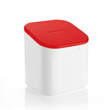 Guzzini - NOT ONLY SALT - pojemnik na sól - wymiary: 12 x 12 x 14,5 cm