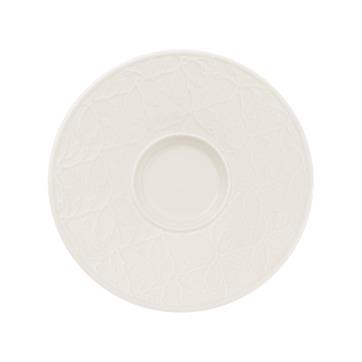 Villeroy & Boch - Caffé Club Floral Touch - spodek pod filiżankę do białej kawy - średnica: 17 cm