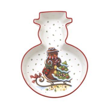 Villeroy & Boch - Winter Bakery Delight - miska bałwan - wymiary: 23,5 x 17,5 cm