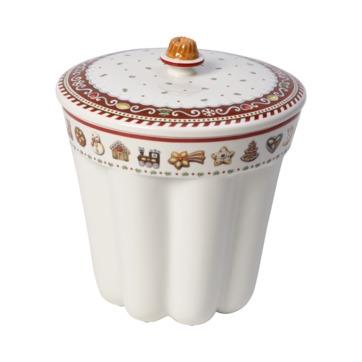 Villeroy & Boch - Winter Bakery Delight - pudełko na ciastka - wysokość: 20,5 cm