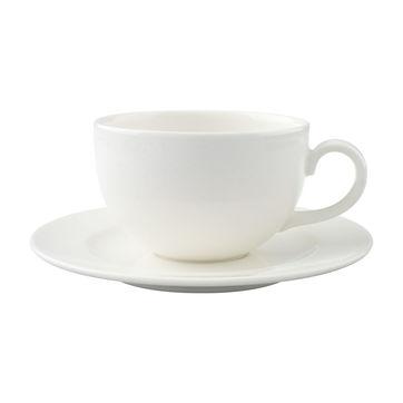 Villeroy & Boch - Home Elements - filiżanka śniadaniowa ze spodkiem - pojemność: 0,4 l