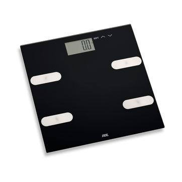 ADE - Marleen - waga łazienkowa z analizą masy ciała - wymiary: 30 x 30 cm