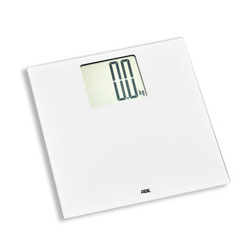ADE - Katharina - elektroniczna waga łazienkowa z dużym wyświetlaczem - wymiary: 30 x 30 cm
