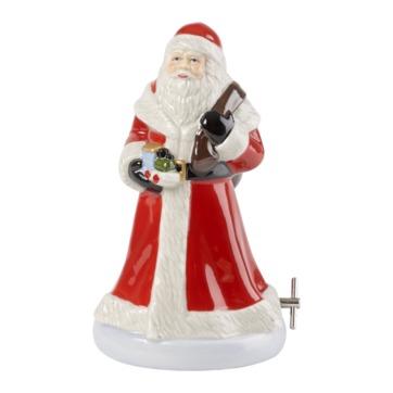 Villeroy & Boch - Nostalgic Melody - Święty Mikołaj - pozytywka - wysokość: 14 cm