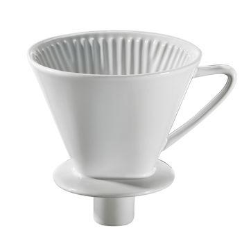 Cilio - porcelanowy filtr do kawy na 4 filiżanki - średnica: 13,5 cm