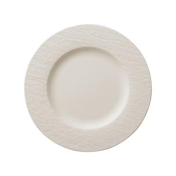 Villeroy & Boch - Manufacture Rock blanc - talerz płaski - średnica: 27 cm
