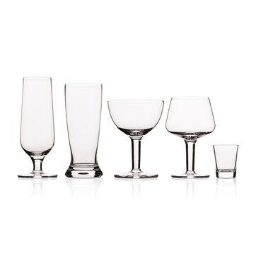 Vacu Vin - zestaw do degustacji piwa - 10 szklanek i notes