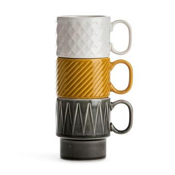 Sagaform - Coffee - filiżanki do kawy - pojemność: 0,25 l