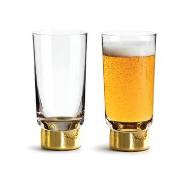 Sagaform - Club - 2 szklanki do piwa - pojemność: 0,33 l; pudełko prezentowe