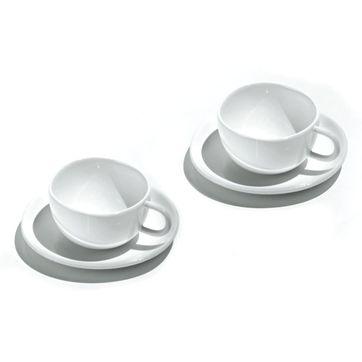 Officina Alessi - Fruit Basket - 2 filiżanki do espresso - pojemność: 0,04 l