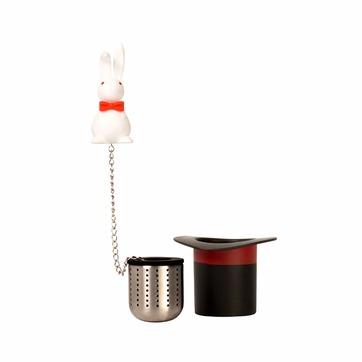 Dexam - Magic Rabbit - zaparzacz do herbaty z podstawką - średnica: 6 cm