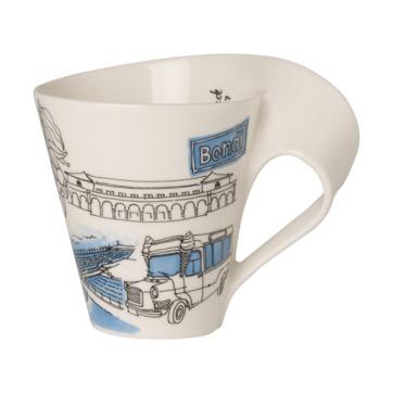 Villeroy & Boch - New Wave Caffe Bondi - kubek - pojemność: 0,3 l