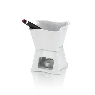 Kela - Alva - zestaw do fondue czekoladowego - pojemność: 0,3 l