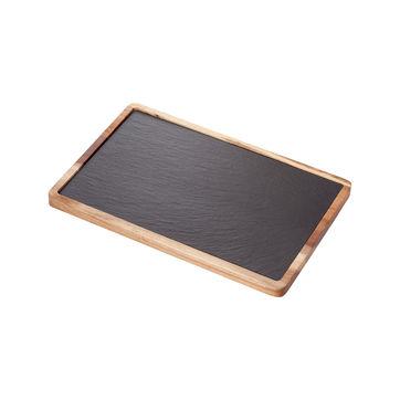 Judge - Slate - deski do serwowania - z łupka i drewna akacji