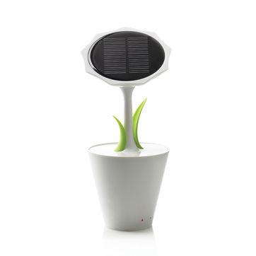 XD Design - Sunflower - ładowarka solarna - pojemność: 2 500 mAh