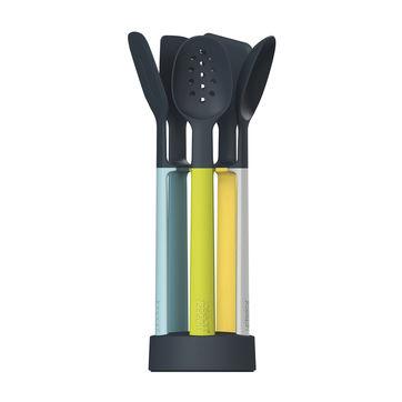 Joseph Joseph - Elevate Silicone - zestaw narzędzi kuchennych - 5 elementów + stojak