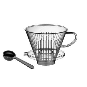 Cilio - akrylowy filtr do kawy na 4 filiżanki - średnica: 13,5 cm