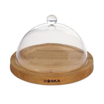 Boska - Exclusive Life - deska do sera z pokrywą - średnica: 23,5 cm