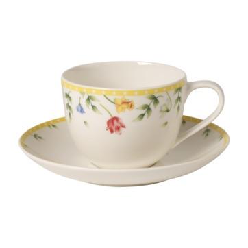 Villeroy & Boch - Spring Awakening - filiżanka do kawy ze spodkiem - pojemność: 0,23 l