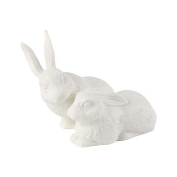 Villeroy & Boch - Easter Bunnies - parka zajączków - wymiary: 13 x 10 x 10 cm