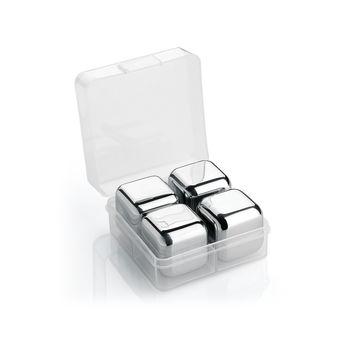 Cilio - Cool - stalowe kostki chłodzące - 4 sztuki