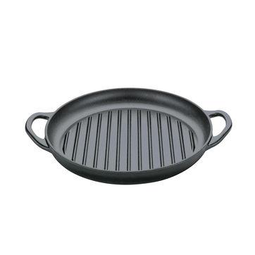 Küchenprofi - Provence - żeliwna patelnia grillowa - średnica: 30 cm